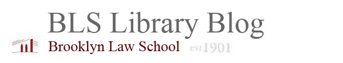 BLS Library Blog