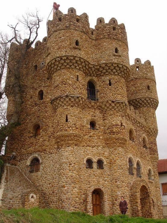 Castillo de La Cueva, Burgos, España
