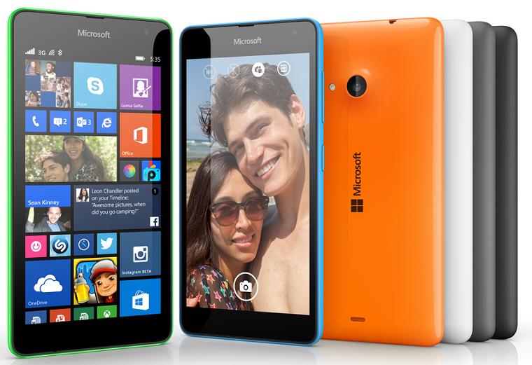 harga HP Microsoft Lumia 535 terbaru 2015