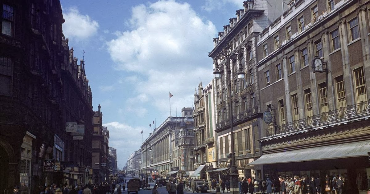 Color Photos of England Before The Launching of The D-Day, 1944