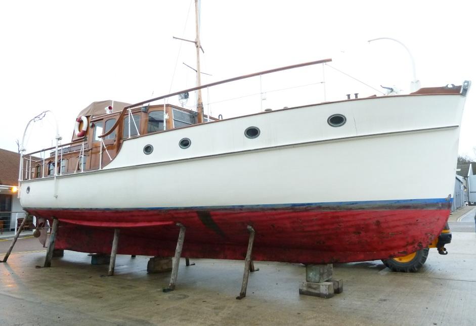 1001 Boats Wooden Twin Screw Pleasure Yacht