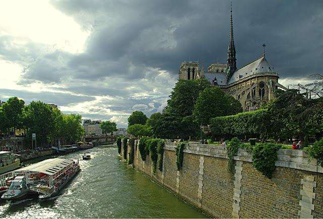 La Seine et Notre-Dame Paris poze