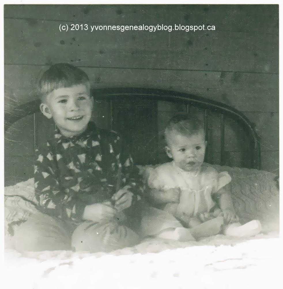 Michael Demoskoff and his sister Margaret
