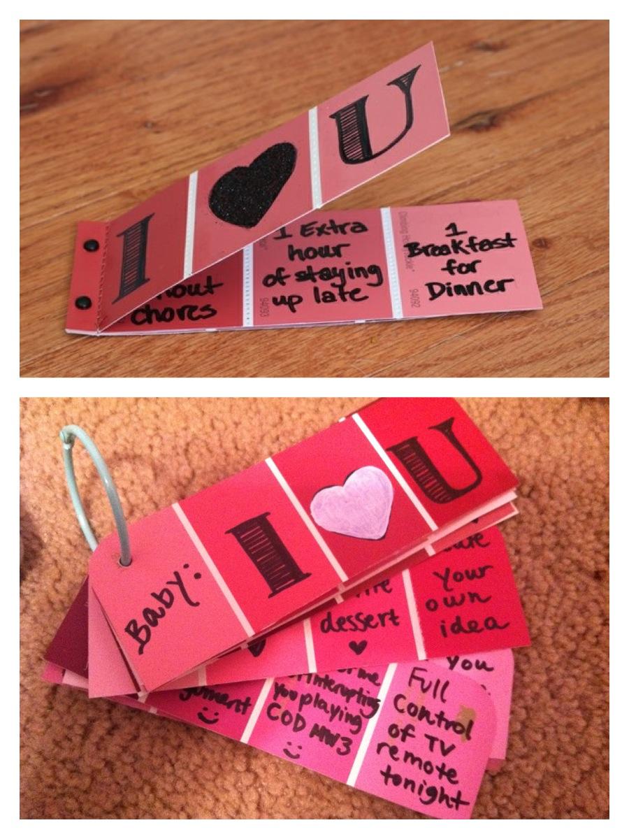 handmade valentines gifts for men