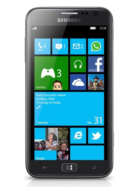 Samsung Unveils World's First Windows 8 Phone