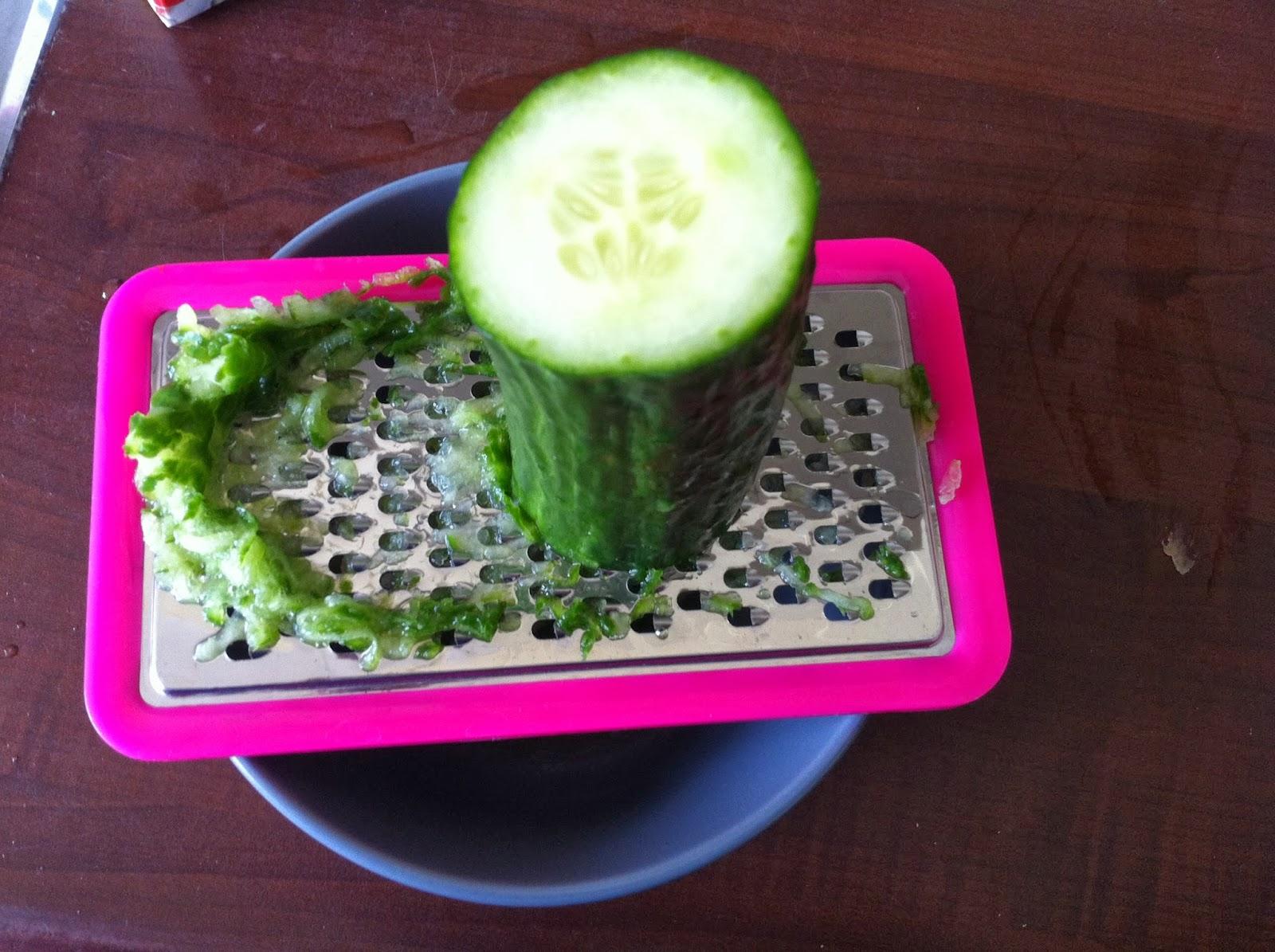Culinair met hilde tzatziki - De komkommers ...