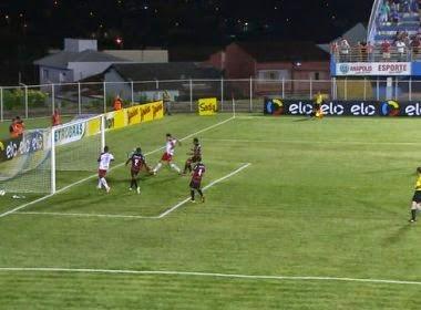 Vitória bate o Anapolina na estreia da Copa do Brasil