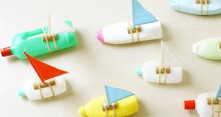 Reciclatex Cómo hacer barcos con botes de plástico