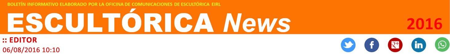 ESCULTÓRICA news