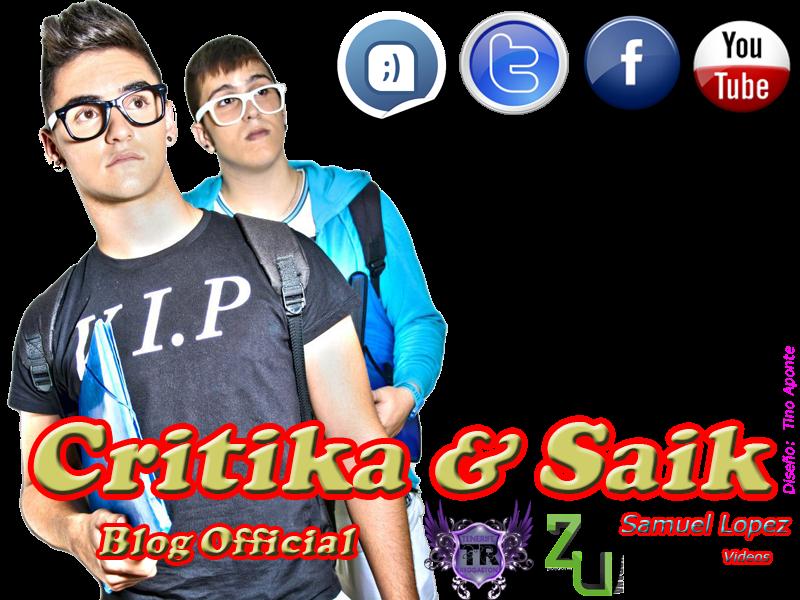 "Critika & Saik ""Blog Oficial"""
