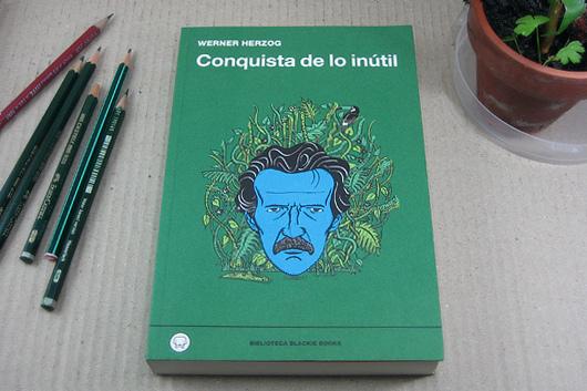 Portada Cristóbal Fortúnez libro Werner Herzog