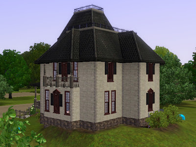 haunted manor sims 3 republic