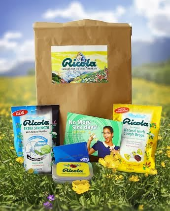 Ricola prize pack