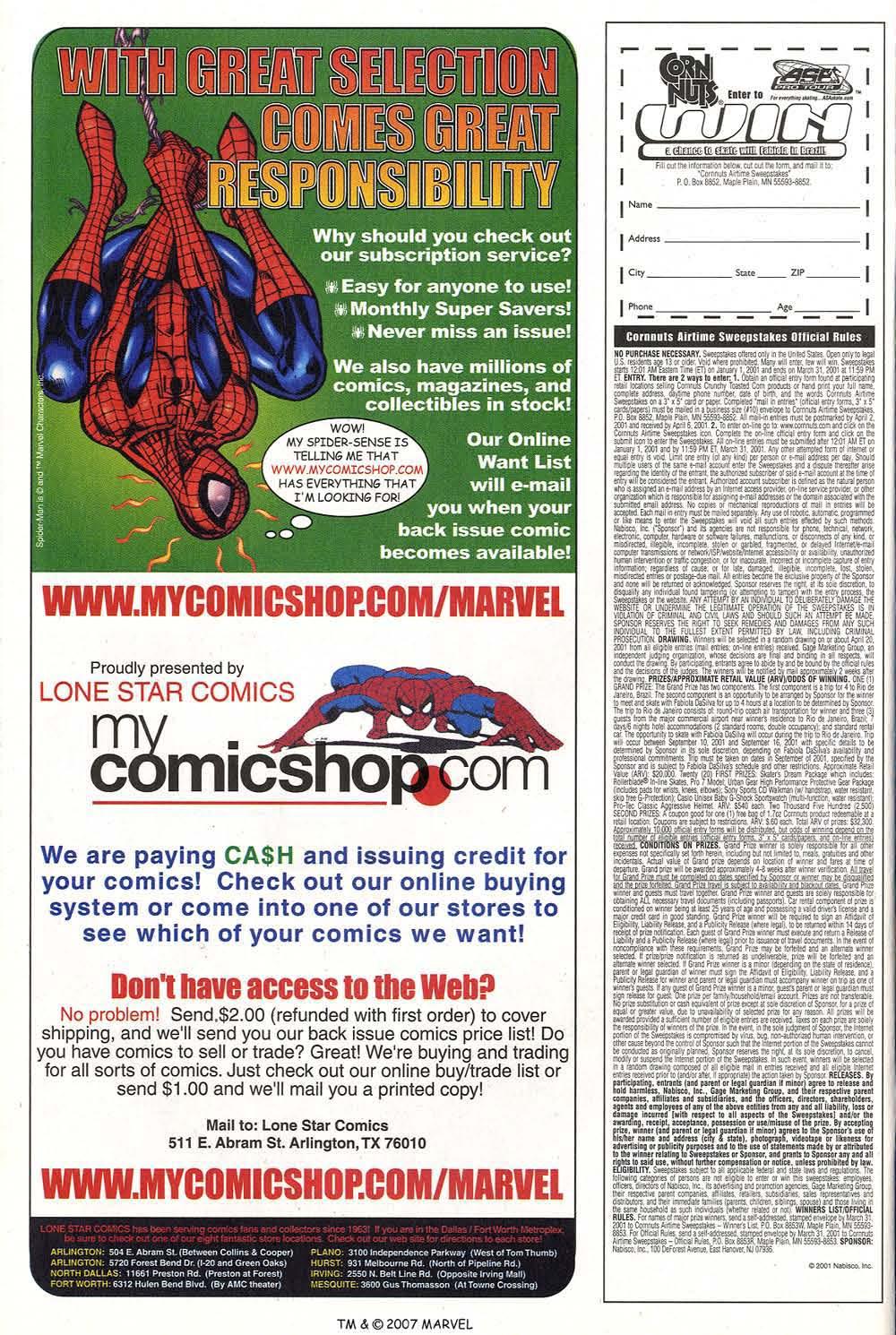 Captain America (1998) Issue #40 #47 - English 10