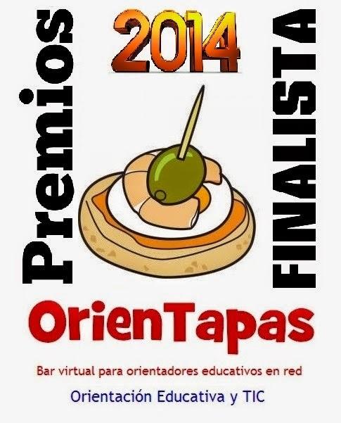 Finalista de los  Premios OrienTapas 2014