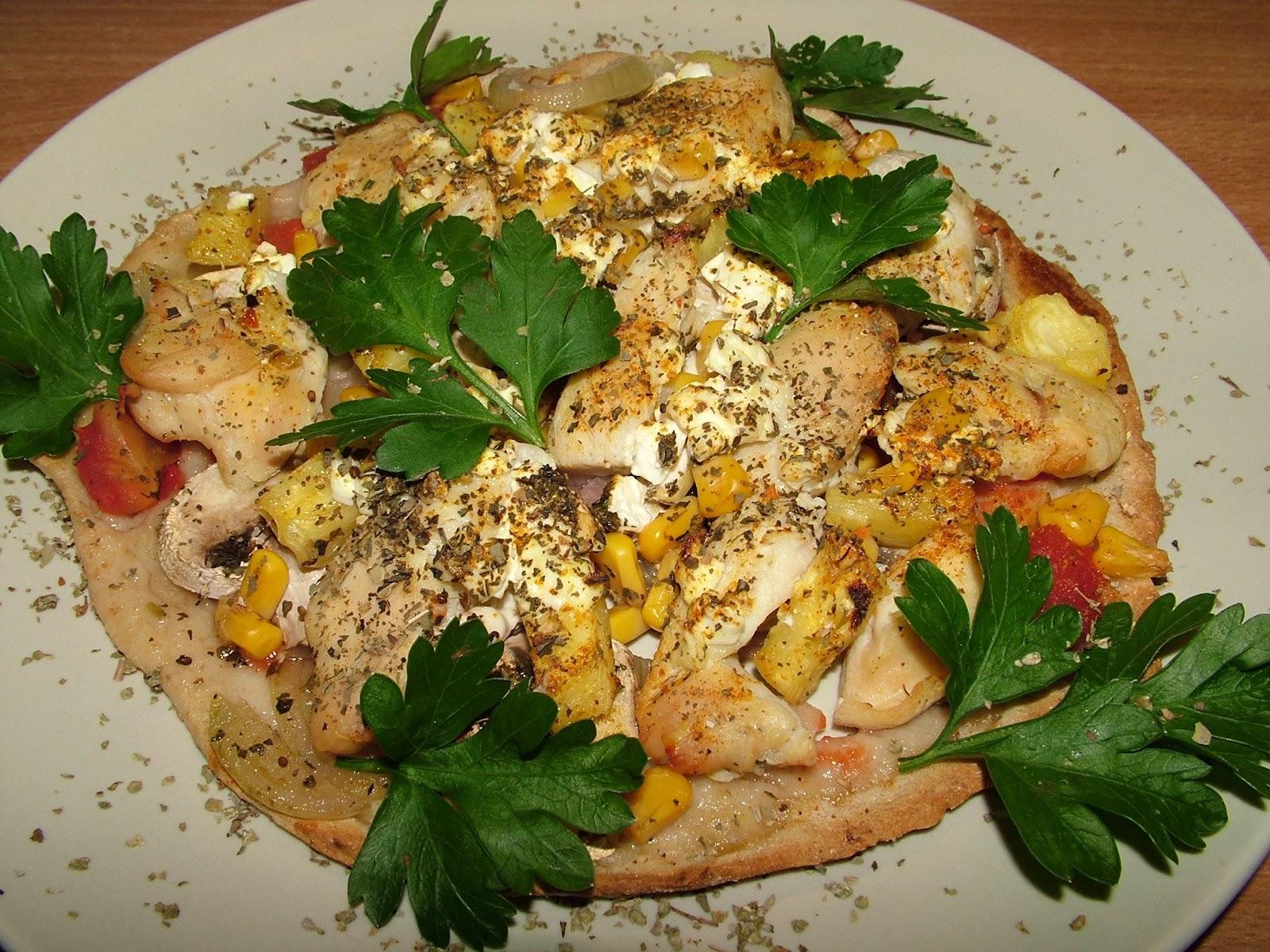 Pizza hawajska dietetycznie