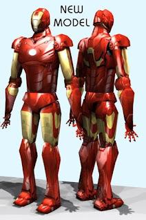 Iron Man 2 Papercraft Free