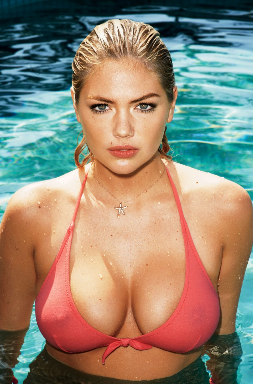 hot pic kate upton 39 s wet nipples in gq. Black Bedroom Furniture Sets. Home Design Ideas