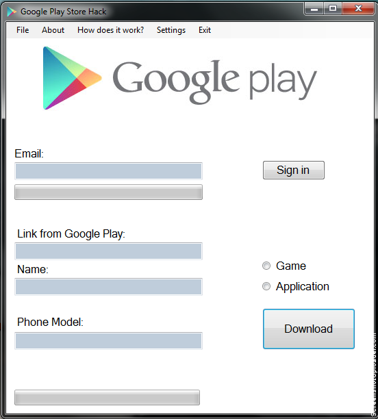 hacked play store apk