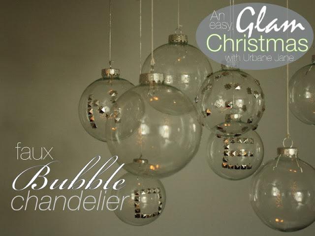 http://www.urbanejane.com/2013/12/a-christmassy-faux-bubble-chandelier.html