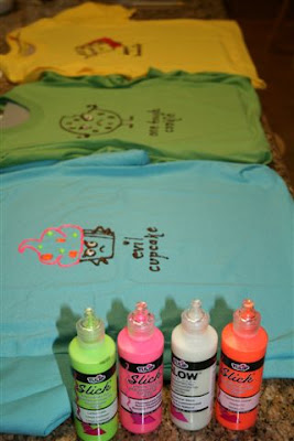 Three cute T-shirts
