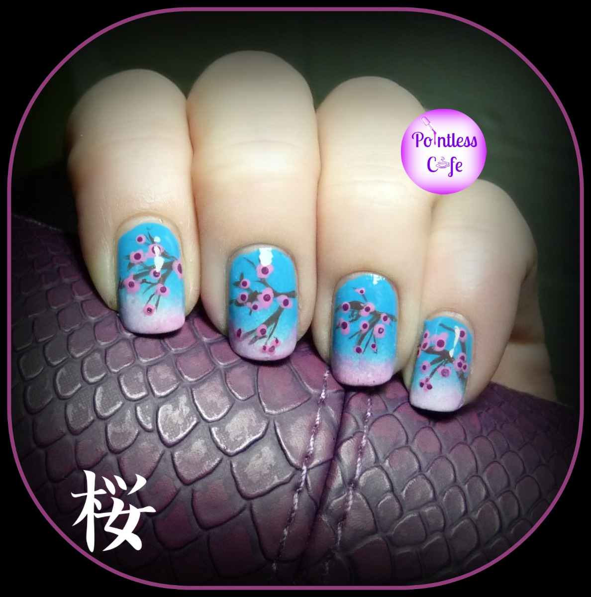 December Nail Art Theme Week - Day Four - Cherry Blossoms ...
