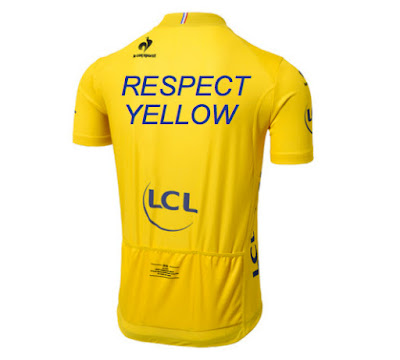 Respect yellow jersey
