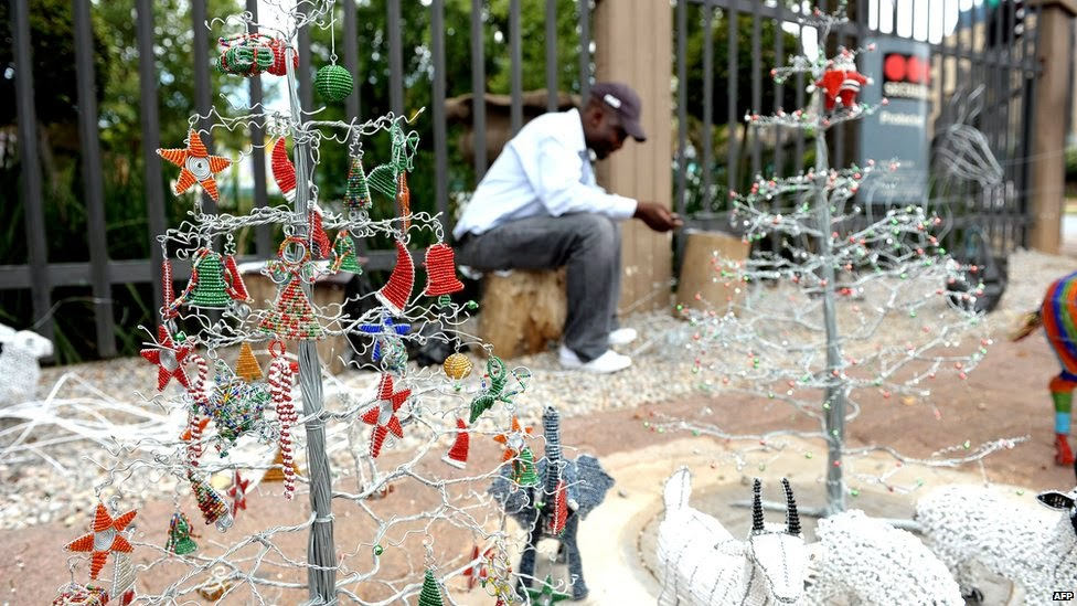 Travel through africa christmas in africa for African christmas decoration