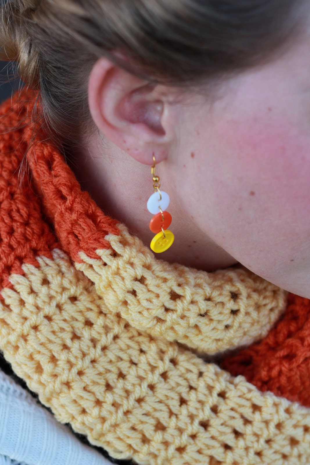 Well You Can Find These Halloween And Fall Inspired Earrings In My Shop  Here For $149 Or You Can Make Your Own