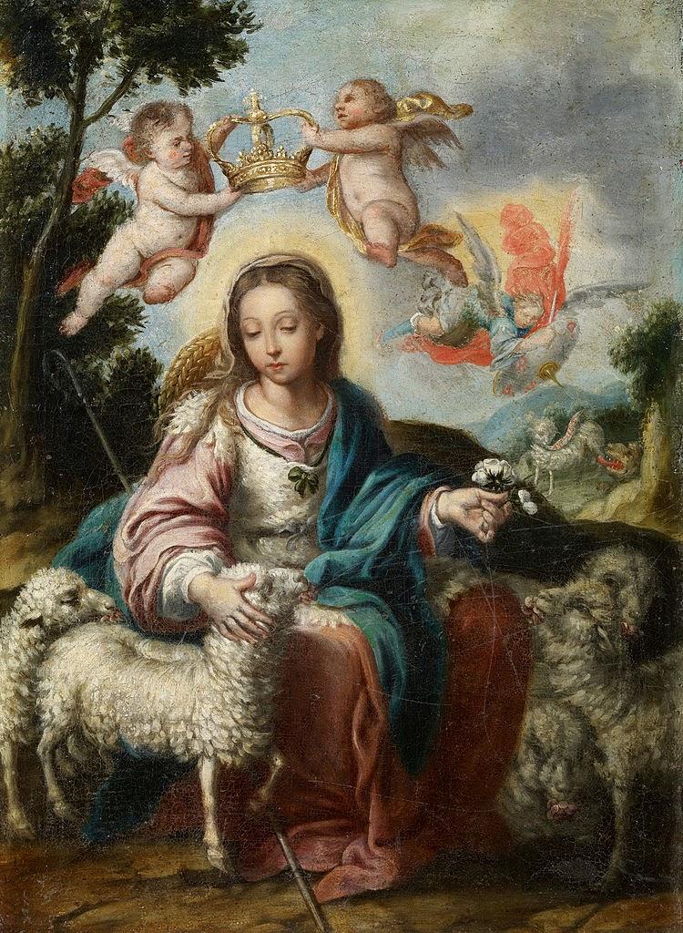 Divina Pastora. Alonso M. de Tovar
