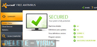 Cara Update Avast Manual Offline