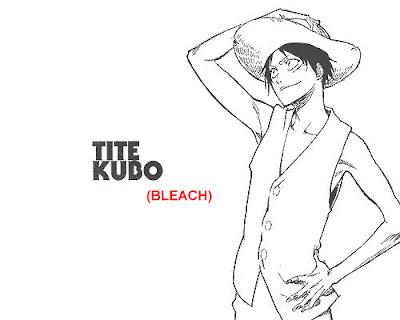 Gambar Luffy yang digambar oleh tite kubo