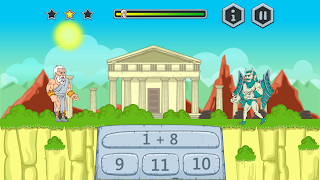 Igra za Windows PC Matematika za decu Zevs protiv cudovista