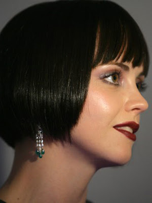 Christina Ricci Pearl Chandelier Earrings