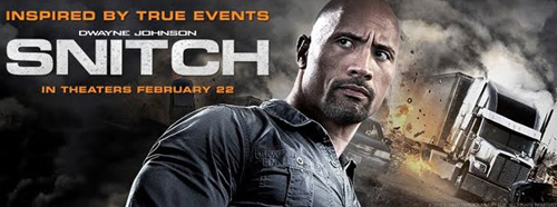 New on DVD & Blu-Ray: SNITCH Starring Dwayne Johnson