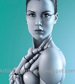 Gambar robot wanita cantik