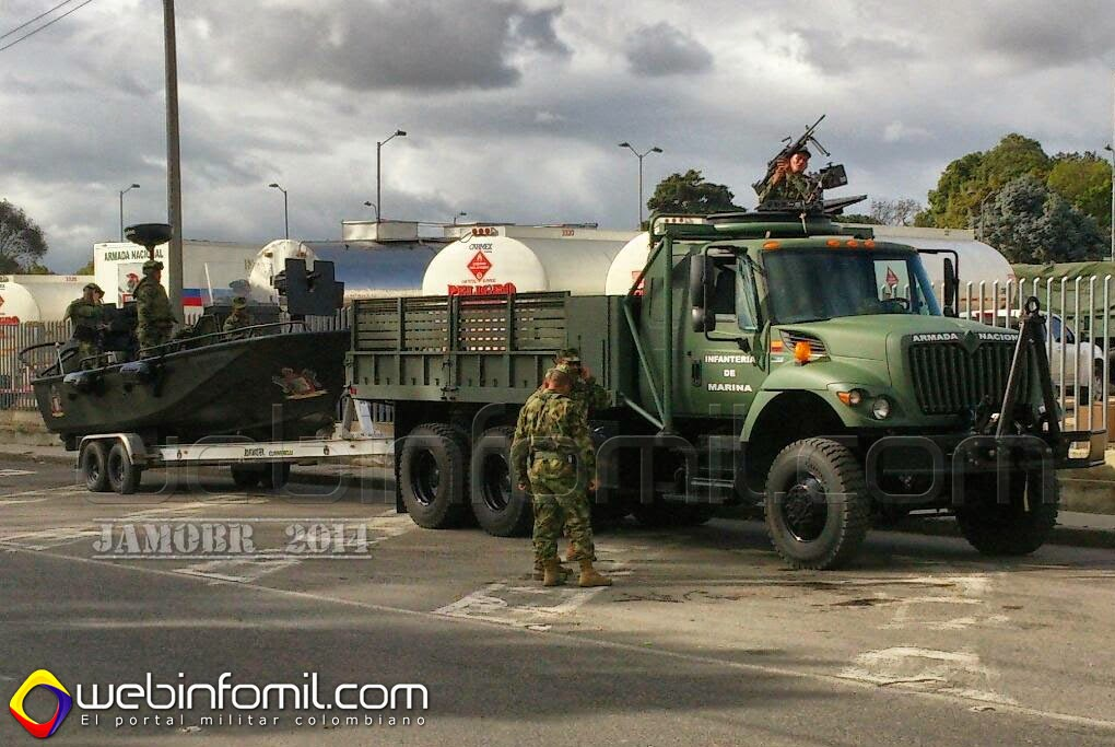 International 7000MV Infantería de Marina Colombia