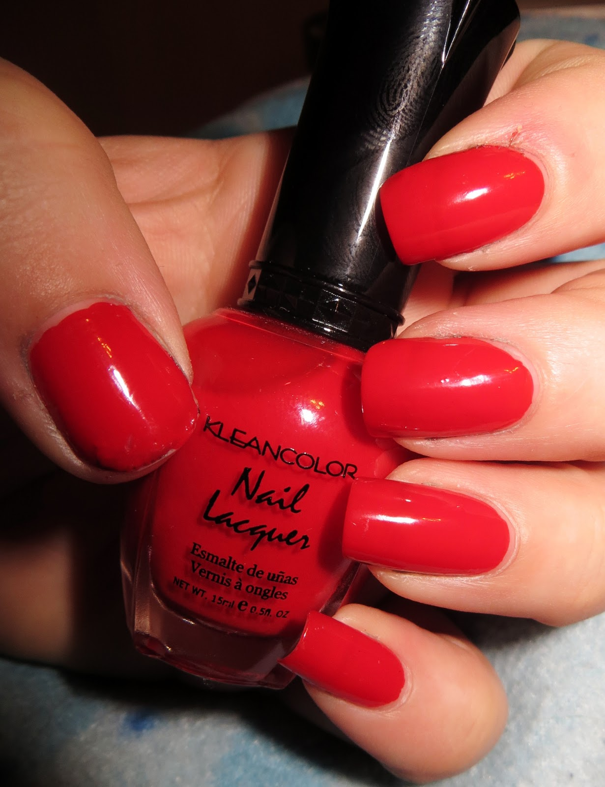 Beautometry: Swatch: Kleancolor Red Alert