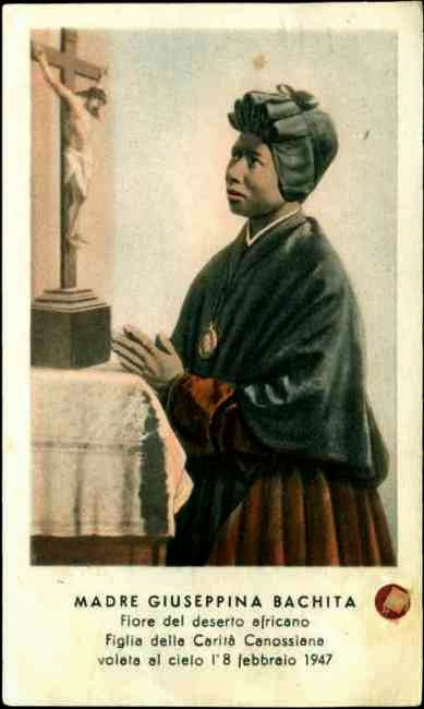 FEBRUARY 8 - St Bakhita - From Slave to Saint