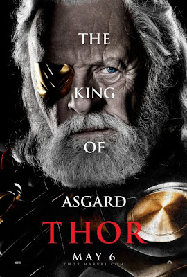 Thor Character Movie Poster Set 1 - Anthony Hopkins as Odin, The King of Asgard