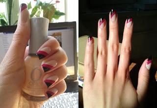 Nuevos diseños para uñas cortas-diseño cebra para uñas