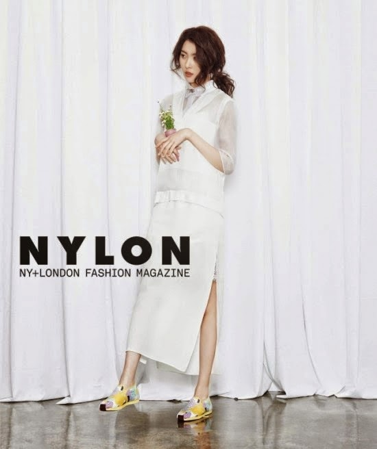 Sunmi graces Nylon Magazine