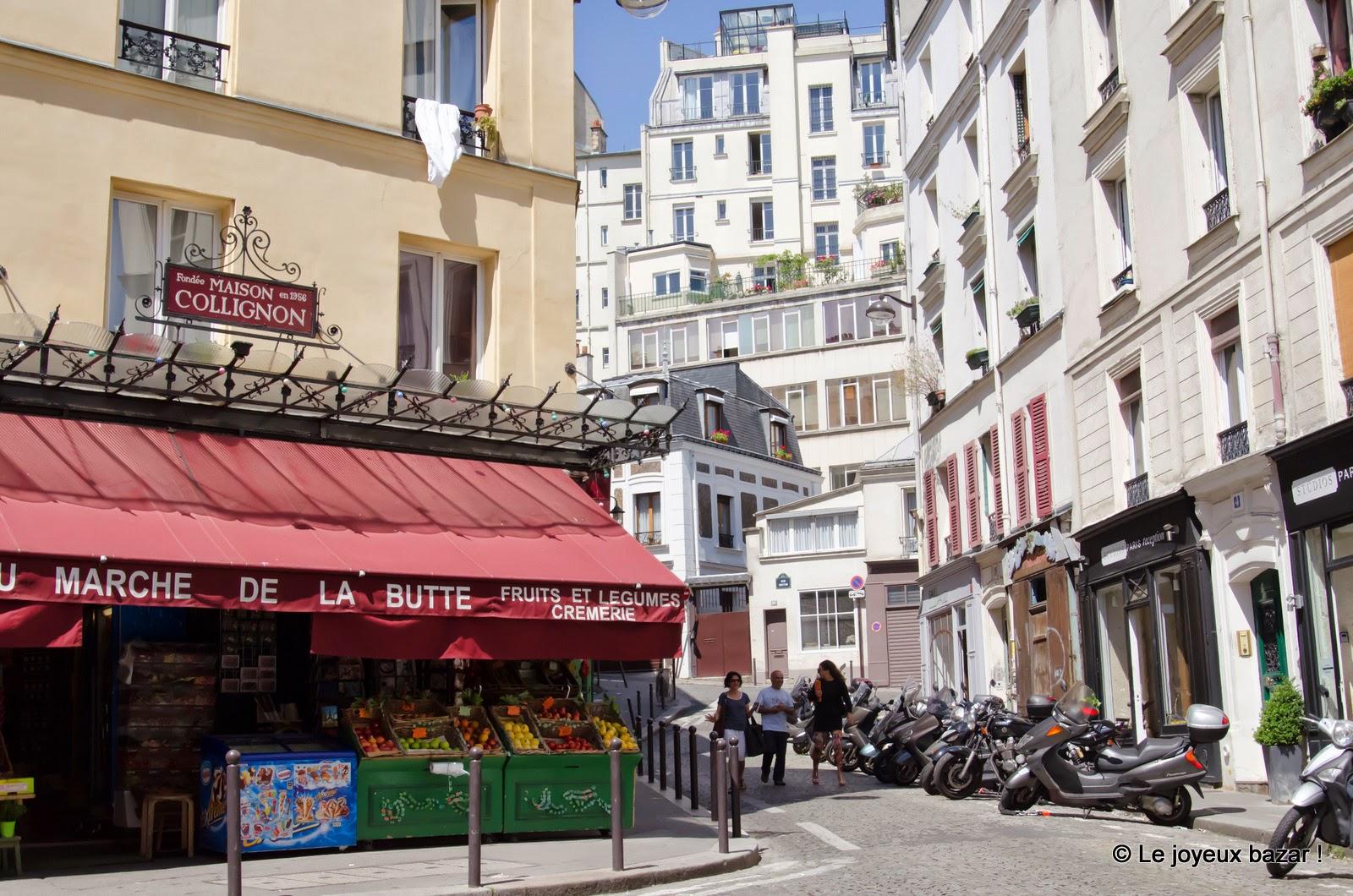 Paris - Montmartre - maison Collignon