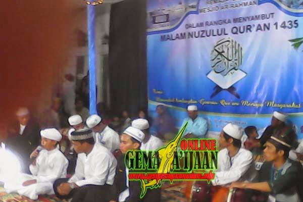 Warga Desa Rampa Sambut Malam Nuzulul Qur'an