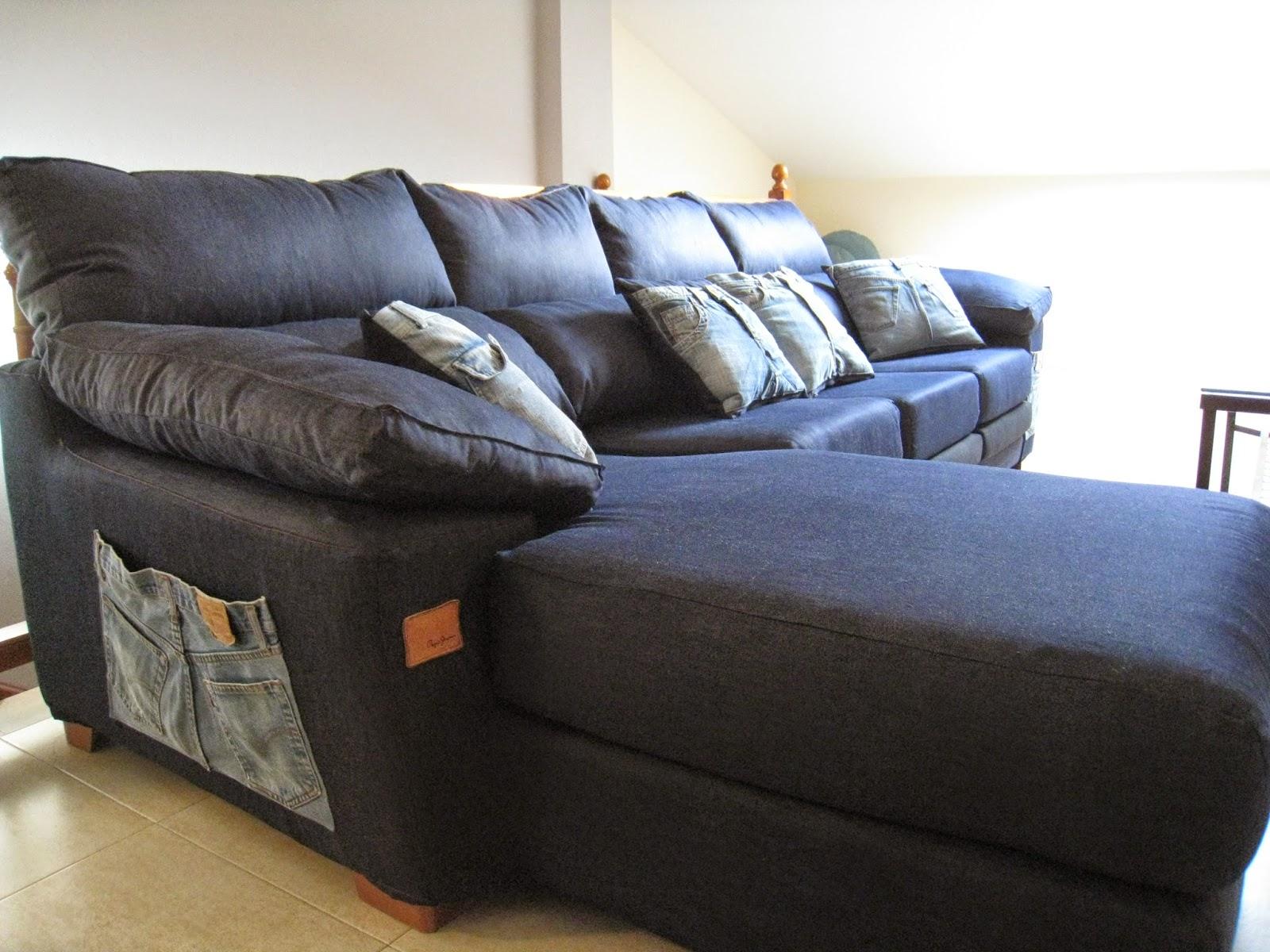 Fundas de sof a la carta funda de sof jean tejana - Fundas de sofas a medida ...