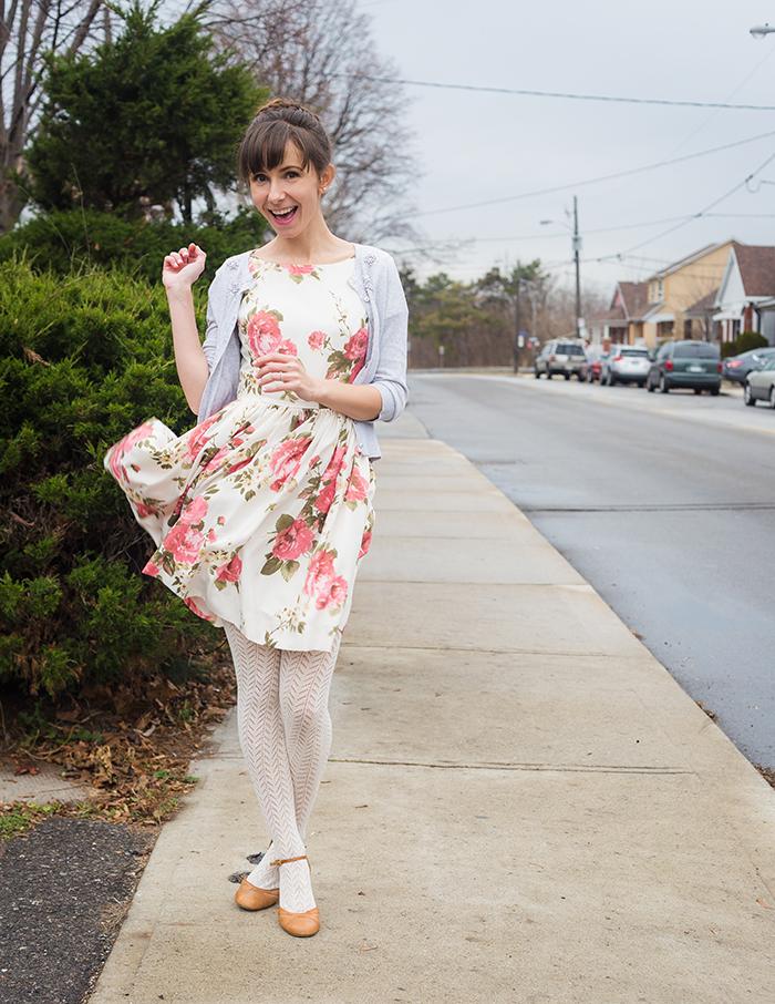 Vintage-Dress-Audrey-Hepburn-Style