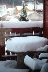 zima pod norweskim niebem