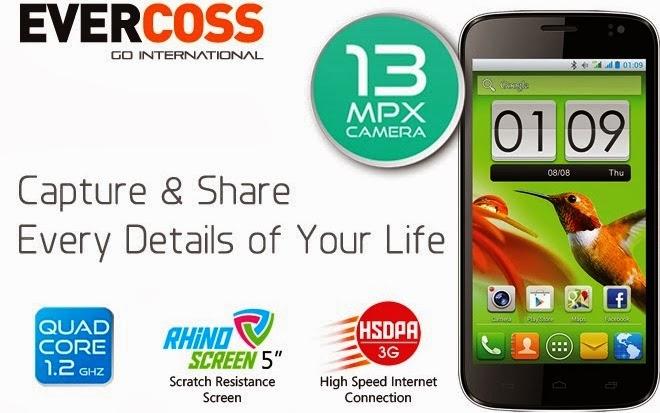 Daftar Harga HP Evercoss Android Harga Murah Terbaru 2014