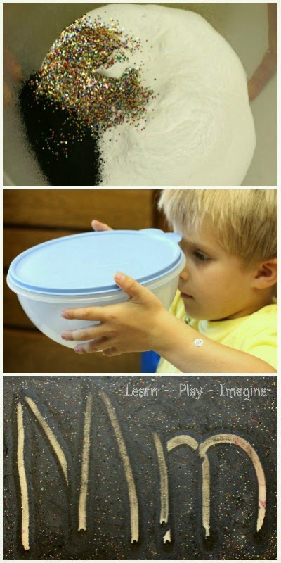 How to make erupting moon dust - a recipe for play that's out of this world.