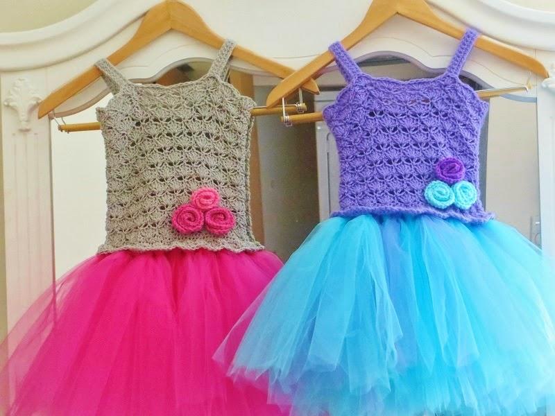 Crochet Pattern For Flower Girl Dress : Crochet Dreamz: Tutu Dress Crochet Pattern, Crochet Baby ...